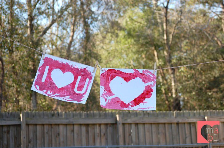 valentine's day craft for toddlers | mama & baby love, Ideas