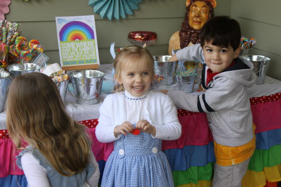 THEME PARTY: Wizard of Oz Birthday