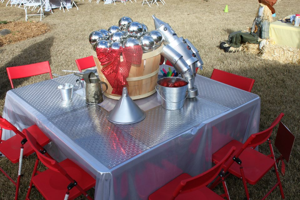 tin man craft table