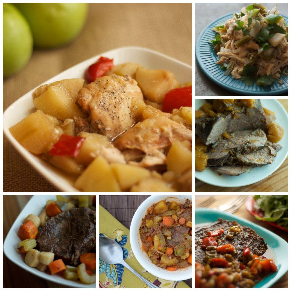 Mini Cookbook Collage