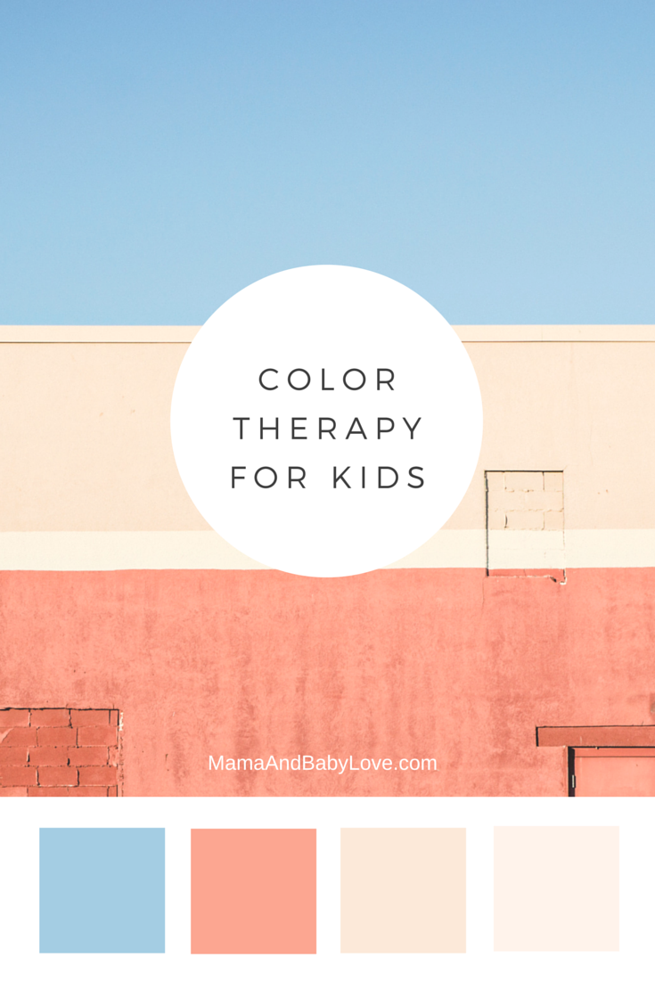 Color Therapy for Kids, how to it works and what each color means.