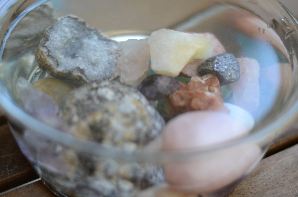 crystals in bowl 2