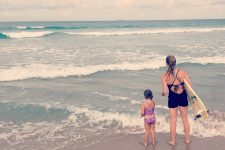 Motherhood Is Like Surfing