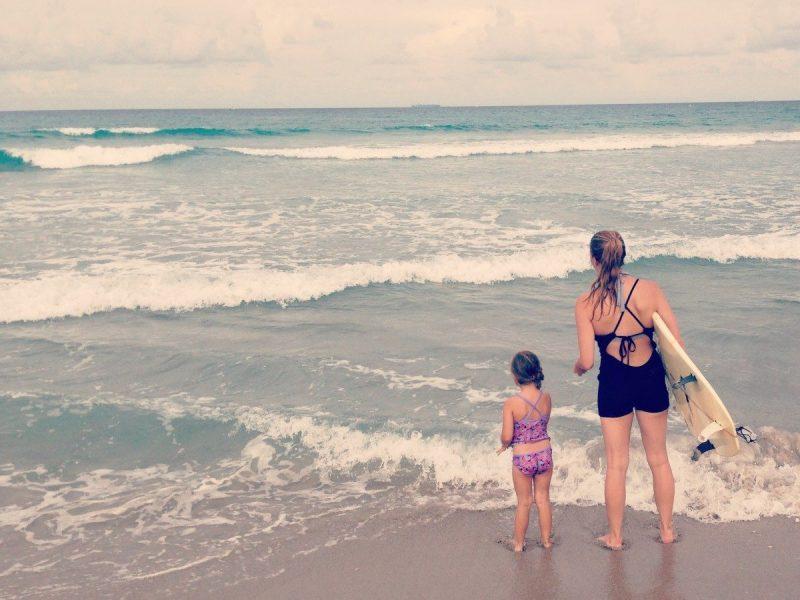 Motherhood Is Like Surfing