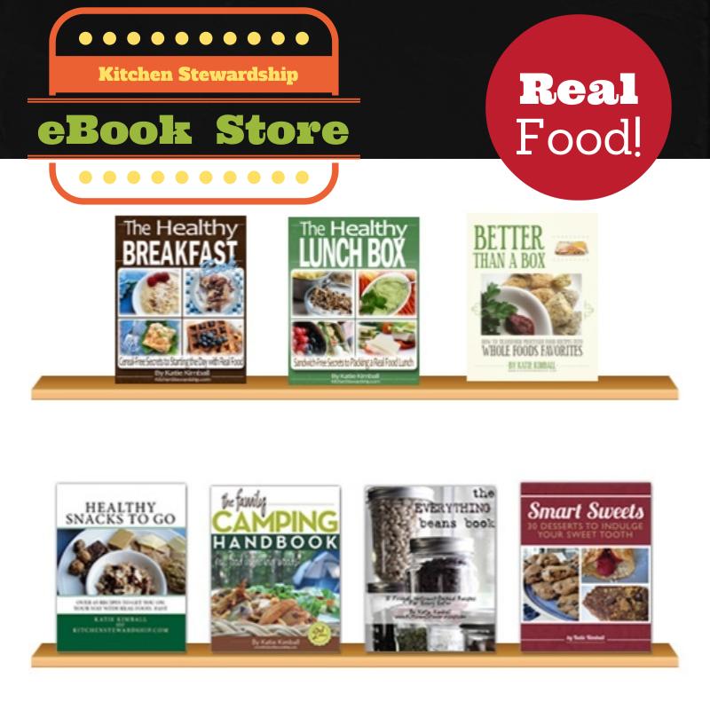Kitchen Stewardship eBook Store image