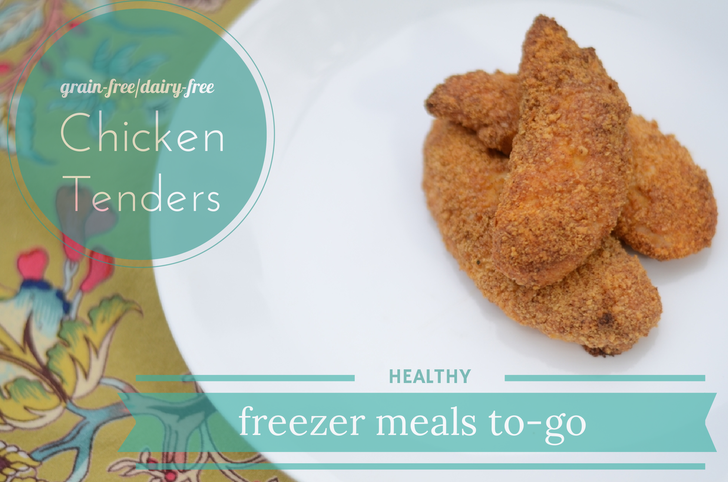 Grain-Free, Dairy-Free Chicken Tenders