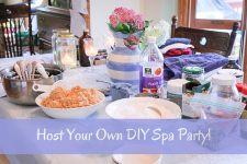 Host Your Own DIY Spa Party!