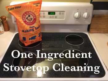 One Ingredient Stovetop Cleaning 5