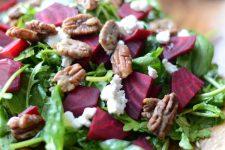 Roasted Beet and Arugula Salad 3