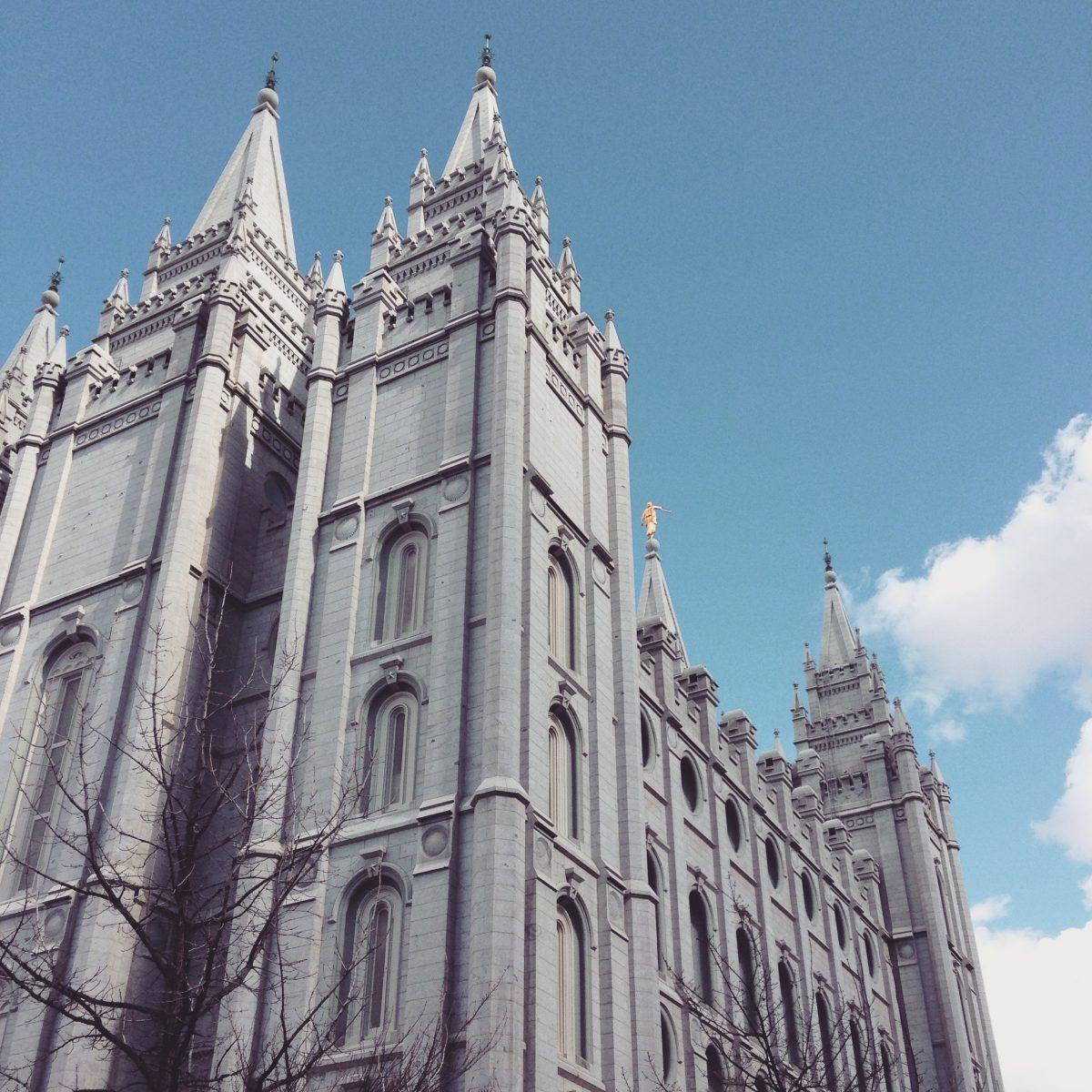 Salt Lake City, Temple Square.