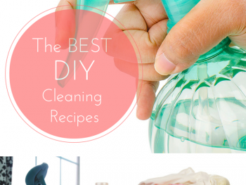 The BEST DIY Cleaning Recipes