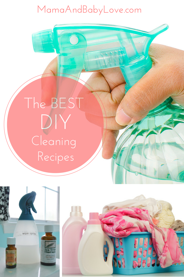 The BEST DIY Cleaning Recipes-Pinterest Graphic