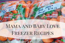 Mama and Baby Love Freezer Meals 1