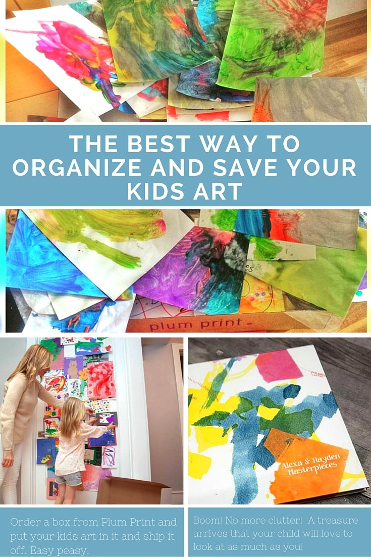 The BEST Way to Preserve Your Child's Art